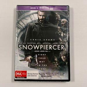 Snowpiercer SEALED (DVD 2013) Chris Evans Tilda Swinton Region 4
