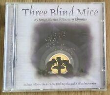 AUDIO BOOK - 25 Childrens Nursery Favourites THREE BLIND MICE - CD new / sealed