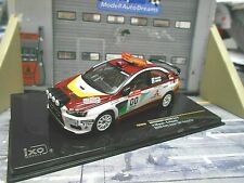 MITSUBISHI Lancer EVO X 10 Rallye Japan #00 Safety Car Miyoshi 2008 IXO KB 1:43