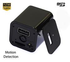 USA HD 1080p Mini USB Spy Camera Video DVR Genuine Charger Motion Detection UX-8