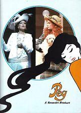 "Sian Phillips ""PEG"" Ann Morrison / David Heneker 1984 London Souvenir Program"