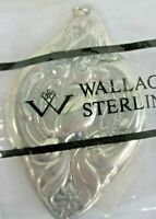 Wallace Sterling Silver 12 Days Of Christmas Partridge In A Pear Tree Ornament
