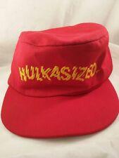 "Hulk Hogan ""HULKASIZED"" (WWF, 1986) Red Kids Painters Hat"