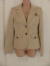 Tommy Hilfiger size UK 8 beige blazer style jacket