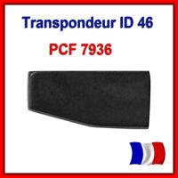 TRANSPONDEUR ANTIDEMARRAGE PCF7936 ID46 PEUGEOT CITROEN