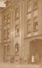 B82802 germany  Wanne Eickel Herne Real photo postcard front/back scan