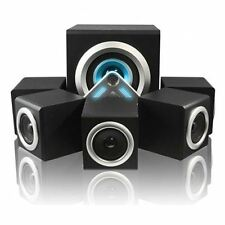 Sumvision VCube 5.1 Surround Sound Speakers Home Cinema System For PC Laptop MP3