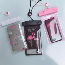 Flamingo Card ID Holders Waterproof Pouch Bag PVC Cell Phone Case Storage Bag