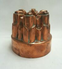 More details for antique copper benham & froud jelly / jello mould no. 458 with six turrets.