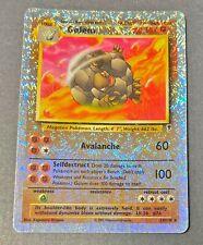 Pokemon Cards - Golem (24/110) - Legendary Collection - Reverse Holo - Good