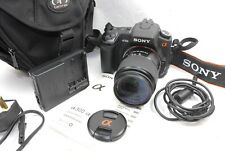 Sony Alpha A300 10.2MP Digital SLR Camera + 18-70 Lens. 2212 activations Comme neuf