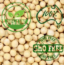 6oz -180g organic non-GMO soy beans - for tofu or soymilk making  - Australian S