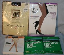 Pantyhose 5 Pairs Stockings NIP Medium Tall C D No Nonsense Control Lot Womens