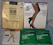 Lot Womens Pantyhose 5 Pairs Stockings NIP Medium Tall C D No Nonsense Control