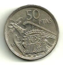 ESTADO ESPAÑOL. 50 PESETAS DE 1957(*BA). MBC+