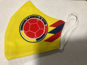 Colombia home Soccer face Mask