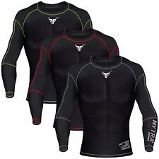 Mytra Fusion Rash Guard Compression Top Compression Shirt Gym Wear Full Sleeves