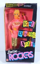 NIB BARBIE DOLL 1986 BARBIE AND THE ROCKERS BARBIE REAL DANCING ACTION