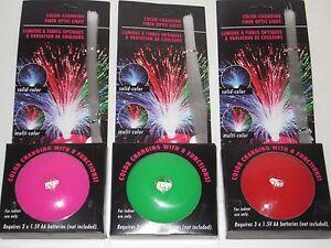 Fiber Optic Light Color Changing Light -  B/O, Disco, Bedroom, Nightlight, Teens