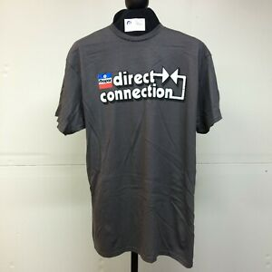 Mopar Direct Connection T-Shirt Charcoal Gray