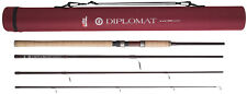 Abu Garcia 4 Piece Diplomat 804ml Spin Spinning 8ft Rod - Plus Cordura Tube