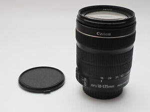 CANON EF-S 18-135mm F3.5 – 5.6 IS STM