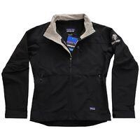 NWT Patagonia Jagermeister Guide Jacket Black Full Zip Mens Soft Shell Coat • M