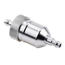 "Fuel Petrol Gas Filter For Harley Davidson XLH1200 Cruiser Chopper 1/4"" hose"