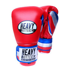 HEAVY HITTERS CHAMPION TRAINING GLOVES H6-RBW, Hook and Loop Closure