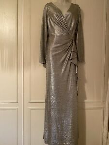 lauren By Ralph lauren Stunning Gold Dress Size 14 New With Tags
