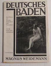 Deutsches Baden  Magnus Weidemann 1926 Copyright  German Language