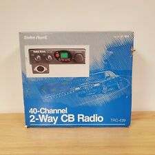 New Radioshack TRC-439 40 Channel 2-Way CB Radio, 4 Step S/RF Meter - Vintage CB