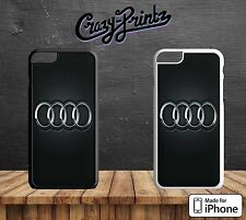 Audi inspirado Vorsprung durch Technik duro funda para todos los modelos iPhone C83