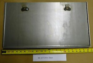 Battery Box FRONT COVER DOOR for Oliver 2050 & 2150 Tractors M-167135A