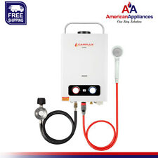Camplux Pro 1.58 GPM Propane Outdoor Tankless Hot Water Heater