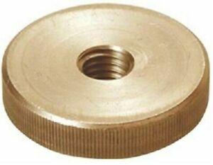 Brass Knurled Thumb Nut Thin Type Grip Knob DIN 467 Machined Round Nut