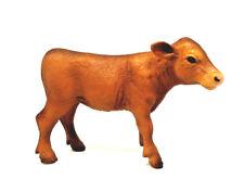 X4) Schleich Sondermodell  Kuh Kalb braun Sonderbemalung Bauernhof Exclusive