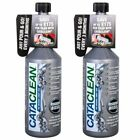 2 x Cataclean Catalytic Converter & Fuel Injector Cleaner for Petrol & Diesel