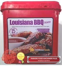 Middleton Foods Louisiana BBQ 2.5kg -Red Tub Glaze -Ideal For Butchers and Hotel