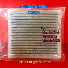 C25876 CHARCOAL CARBON CABIN AIR FILTER 07-14 MAZDA CX-9 FORD EDGE LINCOLN MKX