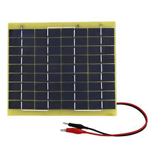 5W 10W 20W 100Watt Portable Solar Panel Battery Charger Backup for Car Motorbike