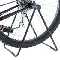 Portable Bike Bicycle HUB Folding Display Repair Floor Storage Rack T Stand