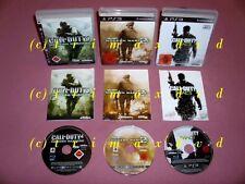 3x PS3 _ Call Of Duty 4 Modern Warfare & Modern Warfare 2 & Modern Warfare 3 MW3