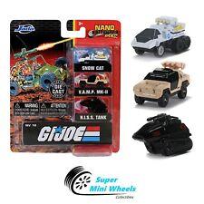 "Jada Nano Hollywood Rides -  Global G.I. Joe 3-Pack - 1.65"""
