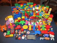 Unique HUGE 646 pc LEGO DUPLO Blocks, Bricks, Vehicles, Special Accessories LOT