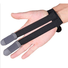 Archery Finger Protector Gloves Bow Hunting Recurve Bow Fabric Unisex