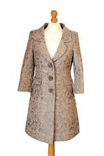 MEXX Beautifully Tailored Coat Color Beige/Brown Marble Effect UK 12 US 8 EU 38