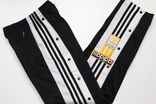 ADIDAS 90'S VINTAGE TRACKSUIT BOTTOMS,POPPERS BOTTOM,RETRO,D6,SIZE:LARGE