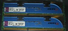 2x2GB Kingston HyperX Genesis DDR3 1600MHz PC3-12800U CL9 KHX1600C9AD3K2/4G 4GB