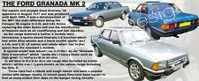 FORD GRANADA MK 2 CLASSIC CAR COFFEE MUG.TOP DESIGN.